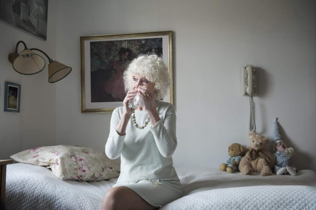 foto : anntar : gunilla sjšgren, familjehemsmamma i gŠvle, i rummet dŠr jasmine sov nŠr hon bodde hos dem. granskning om jasmin, som tog sitt liv pŒ sis-hemmet rebecka i juli. reporter kerstin weigl.